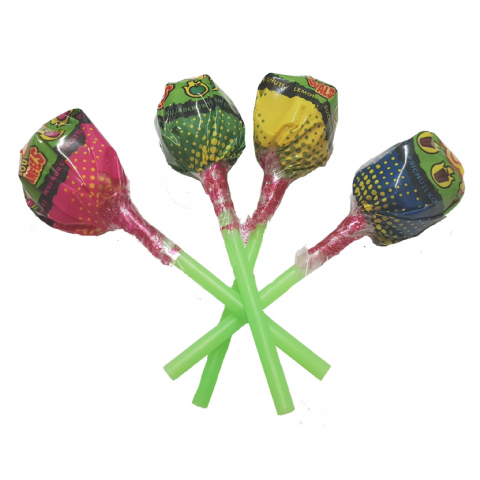Lolly Sour Infernals Chupa Chups Lollipops Candy Sweets